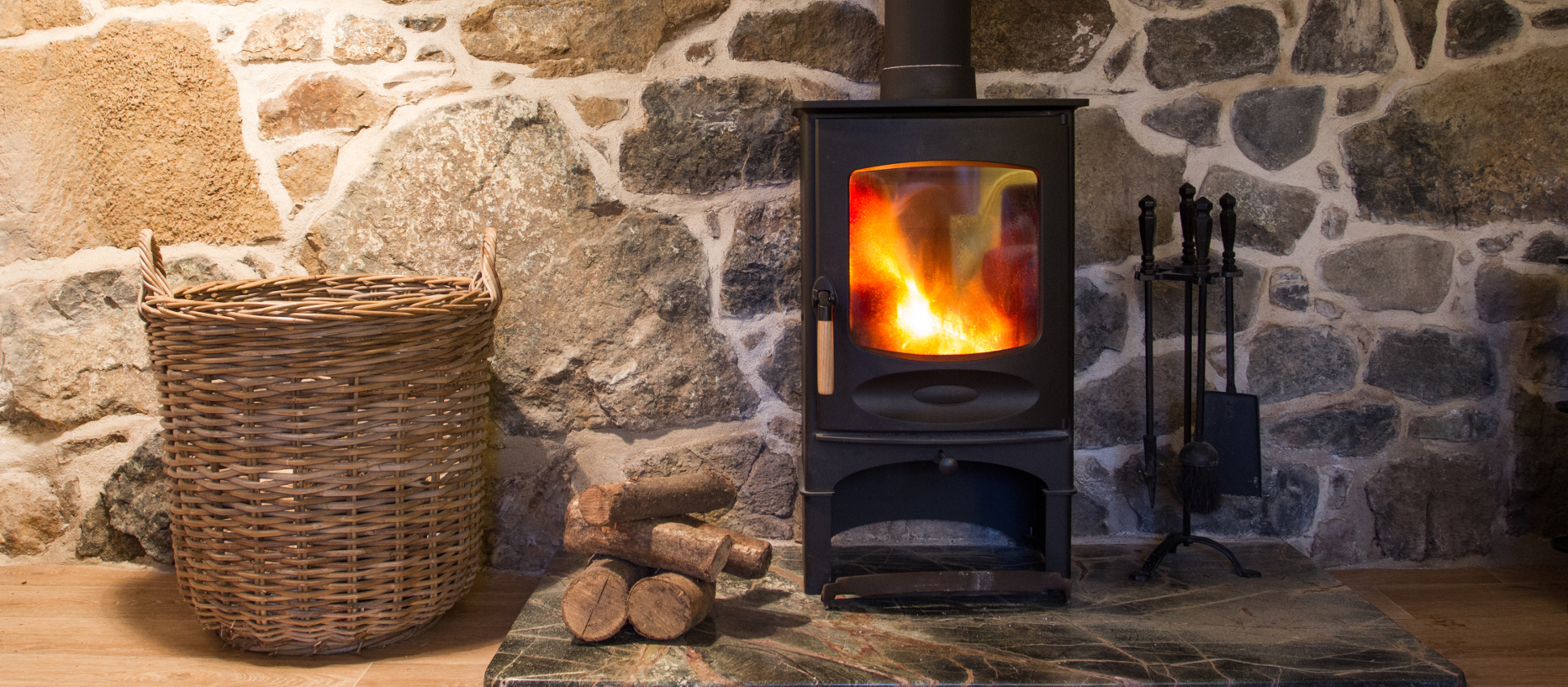 Welcome Wood Burner in Room